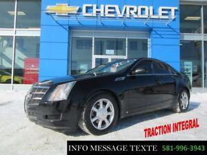 2008 Cadillac CTS AWD, TRACTION INTEGRAL