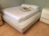 King-size Bed Frame (No Mattress)