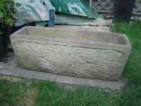Stone Trough Planter