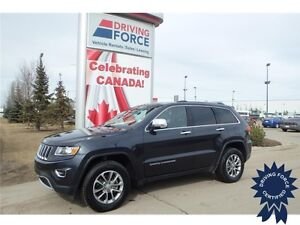 2016 Jeep Grand Cherokee Limited 4x4 - 26,750 KMs, 3.6L V6 Gas