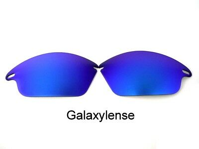 Galaxy Replacement Lenses For Oakley Fast Jacket Sunglasses Blue Polarized for sale  Shipping to India