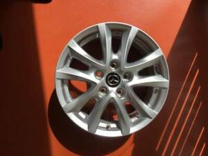 Genuine Mazda 3 2018 2 FOR SALE ALLOY wheels 16 x 6.5 Inch TYRES NOT I