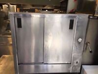 SHOP TAKEAWAY PUB BAR HOT CABINET COMMERCIAL KITCHEN TAKEAWAY PLATE WARMER CATERING RESTAURANT