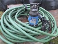Draper submersible dirty water pump