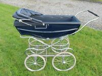 Old Silver Cross Pram