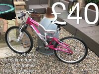 """Selection of Smaller size Mountain Bikes suits 4""""6 to 5""""4 - £30 - £50 Boys or girls male or female"""