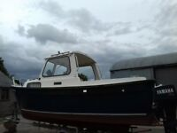 Hardy fisher 20ft boat