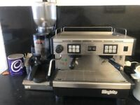 Commercial coffee machine & grinder &drawer