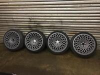 """Wci mt10 18"""" wheels, rotiform ,bbs,rota, fifteen52"""