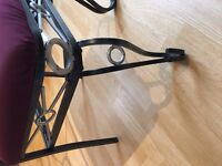 Gorgeous Glass top Dining table and 4 chairs £50 ono