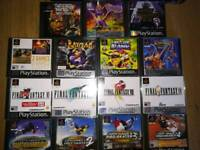 Sony PlayStation 1 boxed with 16 good games