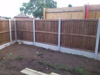 Fencing supplied and fitted