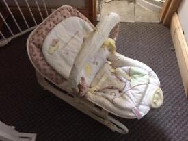 Winnie the Pooh baby seat/ rocker