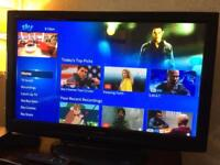 PANASONIC VIERA 42 INCH LCD TV. WARRANTY AND DELIVERY AND INSTALL