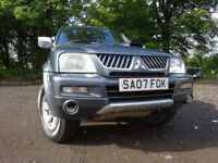 07 MITSUBISHI L200 TROGUN PICK UP 2.5 DIESEL 4X4,MOT JUNE 018,1 OWNER FROM NEW,2 KEYS,PART HISTORY