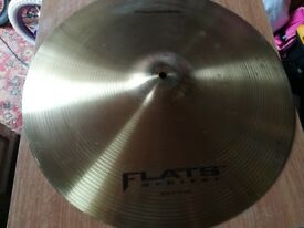 Flat Arbiter Crash/Ride cymbal 18""