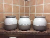 Next Kitchen Canisters