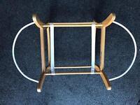 rocking moses basket stand