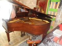 small baby grand piano by cramer 4ft long