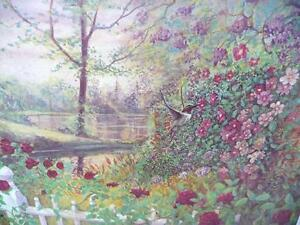 "Listed Artist Peter Robson ""Summer Fragrance"" Limited Edition Stratford Kitchener Area image 2"