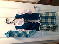 HIGHLAND DANCE COMPLETE GIRL'S SIZE 12 OUTFIT