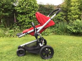 Quinny Buzz Xtra stroller plus travel cot