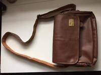 Satchel Brown NON-Leather, Vegan