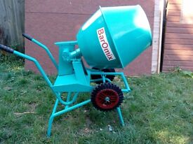 Baromix Minor cement mixer 240v