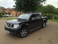 Nissan Navara 2.5L Black Pickup Truck with Added Extras