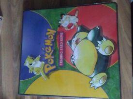 Pokémon folders/card holders original Wizards of the coast