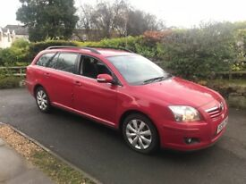 2008 TOYOTA AVENSIS D4D DIESEL ESTATE LOW MILES 6 SPEED MANUEL