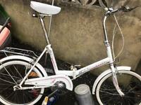 Universal 3 speed unisex adults fold up bike only £55