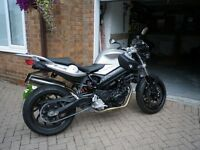 F800R 4000 miles MAY SWOP or px perfect condition full 13months mot