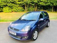 FORD FIESTA 2006 1.4L 5DR HPI CLEAR 12 MONTH MOT CHEAP TO INSURE IDEAL FIRST CAR SAT NAV