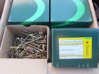 wood screws 5 x 70mm 100 screws per box brand new