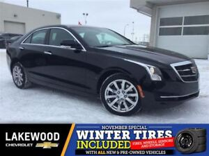 2017 Cadillac ATS 2.0L Turbo Luxury AWD (Nav, Remote Start, Heat