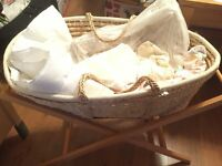 Mamas & Papas Moses Basket with Stand