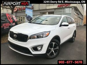 2017 Kia Sorento DEMO/2.0L EX Turbo/3.8% OAC/LEATHER /AWD/HTD SE