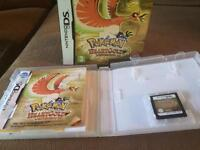 Pokemon HeartGold DS game