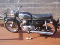 Honda CD175 Motorbike