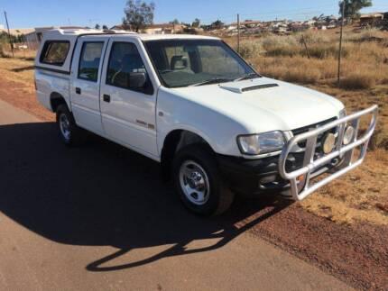Intercooled Turbo Diesel Dual Cab Holden Rodeo Ute