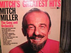 DISQUE VINYLE 33 TOURS - MITCH MILLER - GREATEST HITS