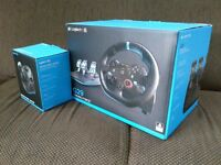 Logitech G29 steering wheel and shifter compatible with PS3/PS4 and PC. NEW IN BOX!