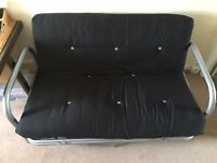 Metal Pull Out Double Sofa Bed