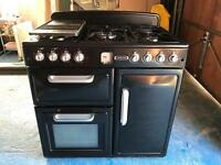 Leisure Range Style Cooker/Oven/Grill (Black)