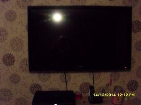 lg 42 inch slimline tv