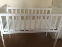 Mothercare baby crib 6 months old