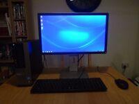 "Dell Optiplex 7010 Intel i5 3.2 Ghz 12Gb Ram 2TB HDD 22"" Dell Monitor Microsoft Office"
