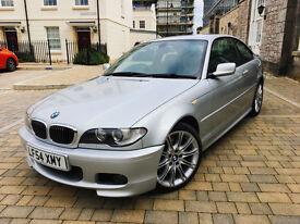 2004 BMW 330D CD M SPORT AUTO COUPE, 12 MONTHS MOT, F/S/H, NICE CLEAN CAR, LOW MILEAGE