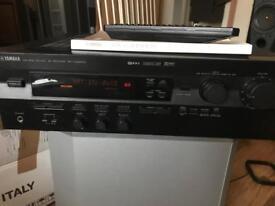 Yamaha 190w natural Surround Sound amp receiver hifi separates plus remote